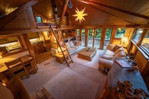 Romantic Oak Cabin Berkhamsted