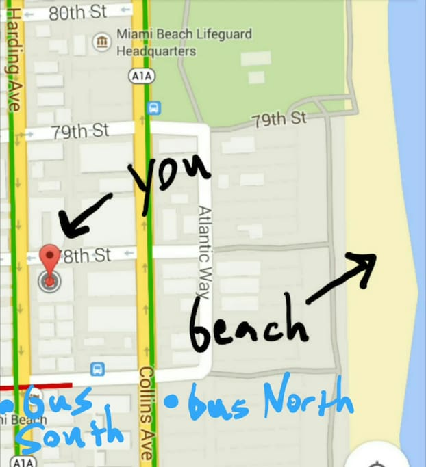 1 Block from the Beach! North Beach
