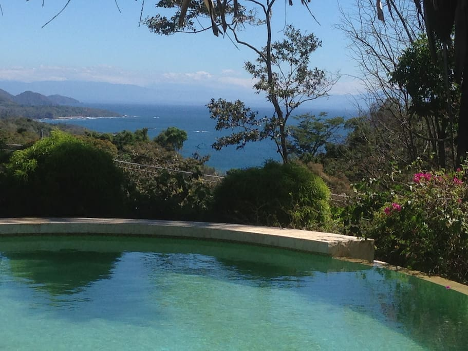 stunning  view from your salt swimming pool area