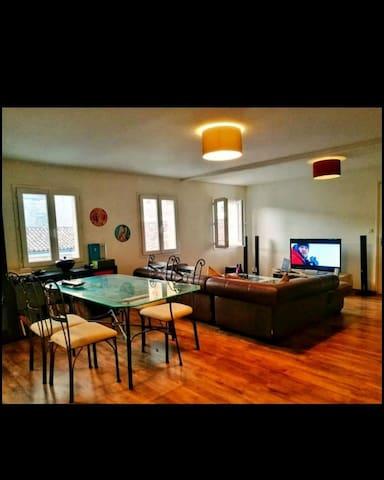Loue grande chambre dans appartement