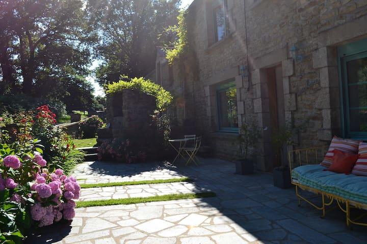 Chambre de charme près de Vannes - Trédion