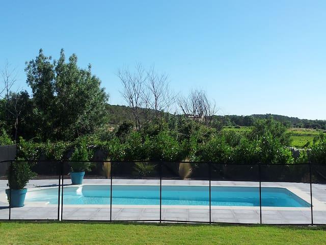 Belle villa,à 15m de Montpellier,30m des plages - Les Matelles - Villa