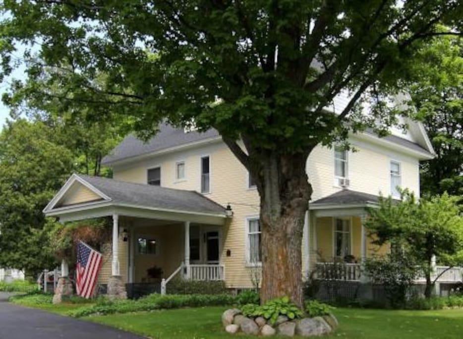 Wheeler House Entry