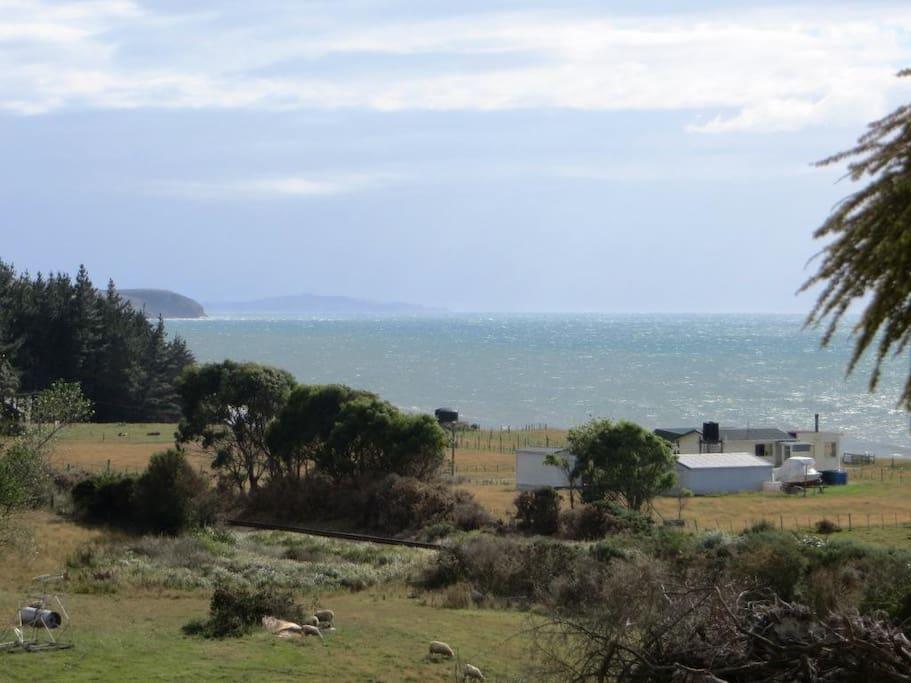 View of Hampden from Deck