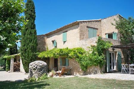 """Provençal House  """"The Espinettes"""" - Cabrières-d'Aigues"""