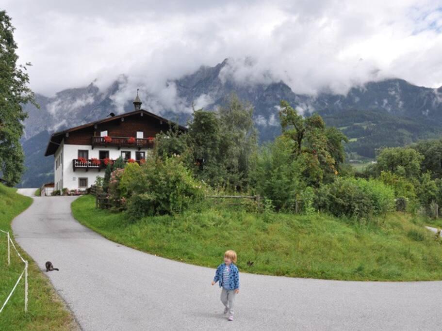Das Rettenbachgut - Gemütliche Zimmer in wunderschöner und gut erreichbaren Lage.