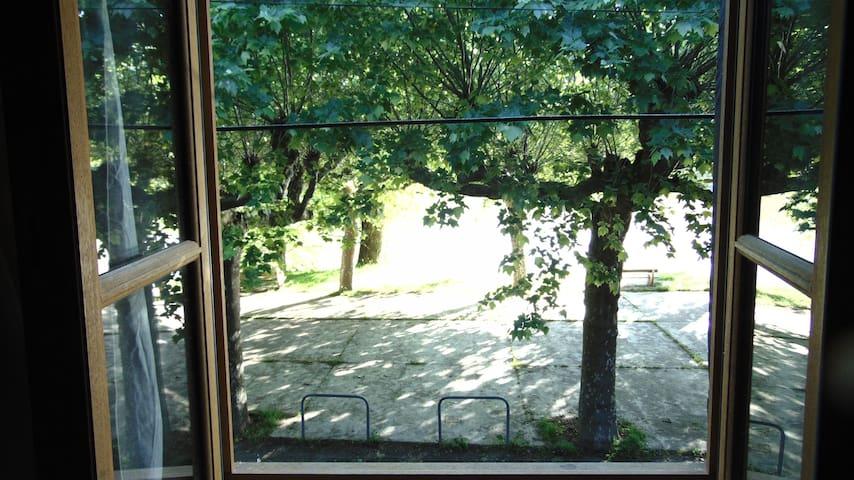 Fenêtre coté Tarn