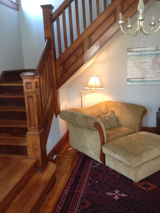 Entry foyer but also acts as an informal living room