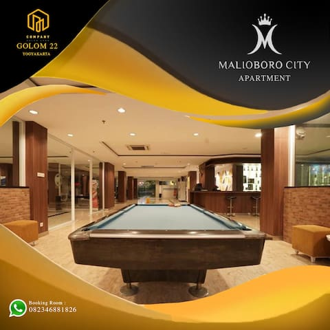 GOLOM ROOM 22 By Malioboro City Apartment