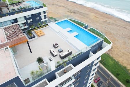 Bello apartamento con vista al mar - Distrito de Lima