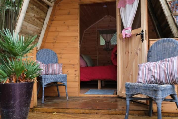 "The ""CHESTER"" AT HONEY TOP GLAMPING and SPA"