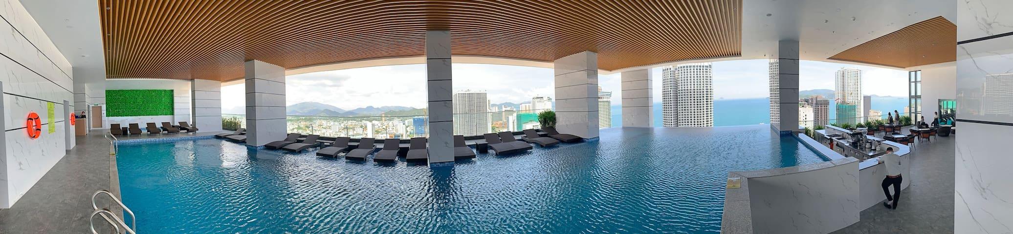 NEW! Cozy2BR@36th floor@Virgo hotel