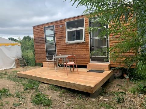 Tiny House i økosamfundet Friland