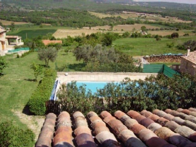 """""""Le Solarium"""", Sud Ardèche, piscine"""