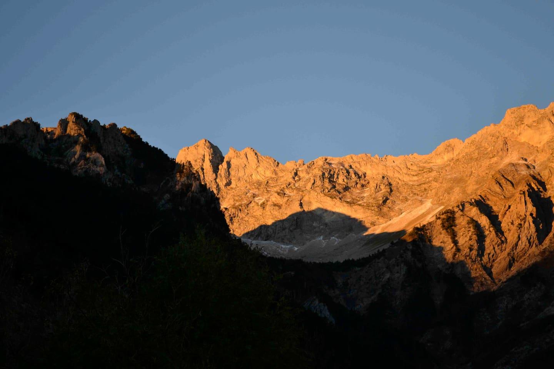 Levé du jour sur le site Natura 2000