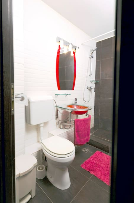 Perfect clean bathroom is our most important standard. Essentials will be provided.