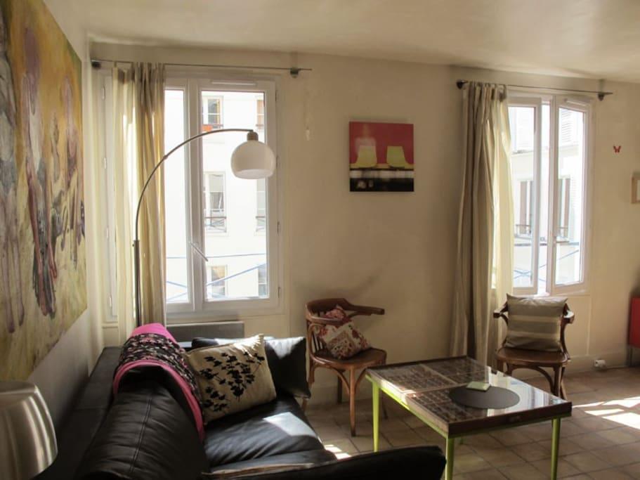 salon sofa-lit 130 x190 cm