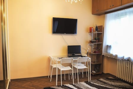 Saska Kepa calm apt in green center free parking - Warszawa