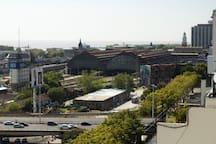 Vista de la Estación Retiro (trenes- micros)