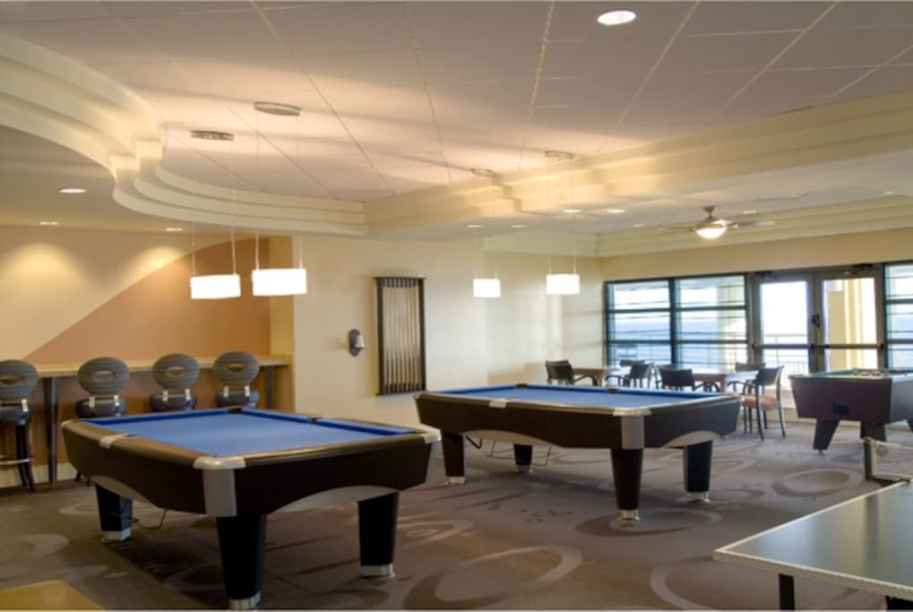 Enjoy the game rooms available to all guests!
