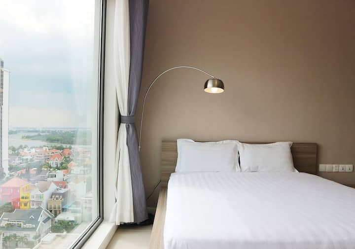 BRIGHT STUDIO APARTMENT GATEWAY THAO DIEN