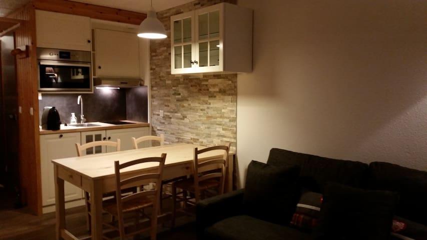 Les Ménuires,Le Villaret appart 4/6 personnes - Saint-Martin-de-Belleville - Apartment