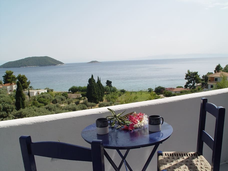 The balcony view