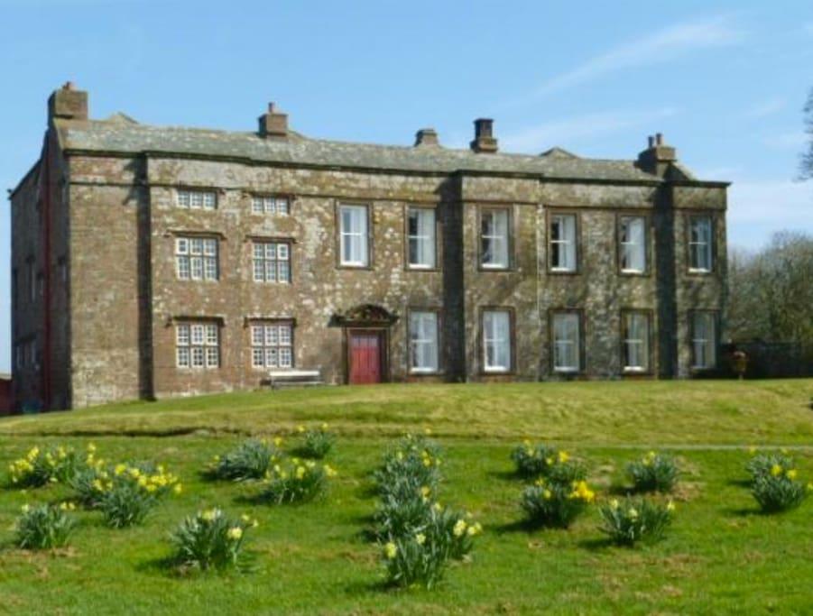 Hayton Castle in Spring