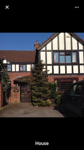 Family home with rooms to let