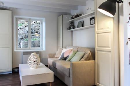 Joli studio avec jardin proche mer - Apartment