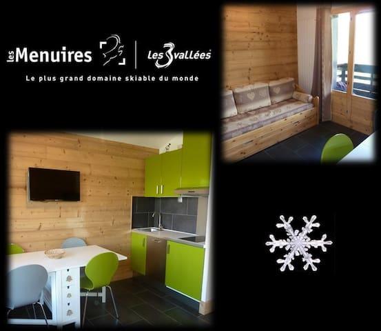 Les Ménuires / 3 Vallées / 4 personnes / Rénovés - Saint-Martin-de-Belleville - Apartamento