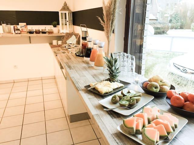 203) Schönes 2er Zimmer, junges Hotel an der Küste - Wangerland - Hostel