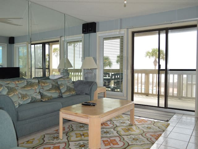 2 Bedroom Condo with Huge Gulf Front Balcony to Enjoy!