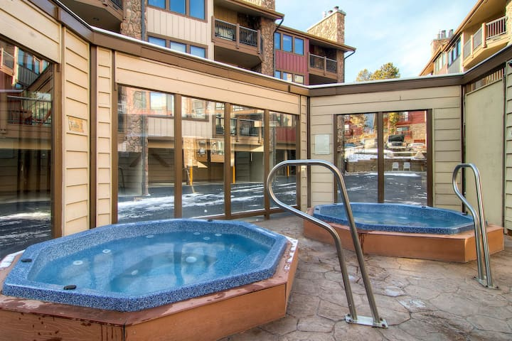 Onsite Shared Outdoor Hot Tubs