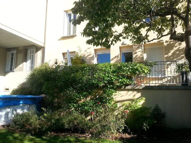 Gd appart av jardin 4 ch maisons louer saint tienne for Appart maison a louer