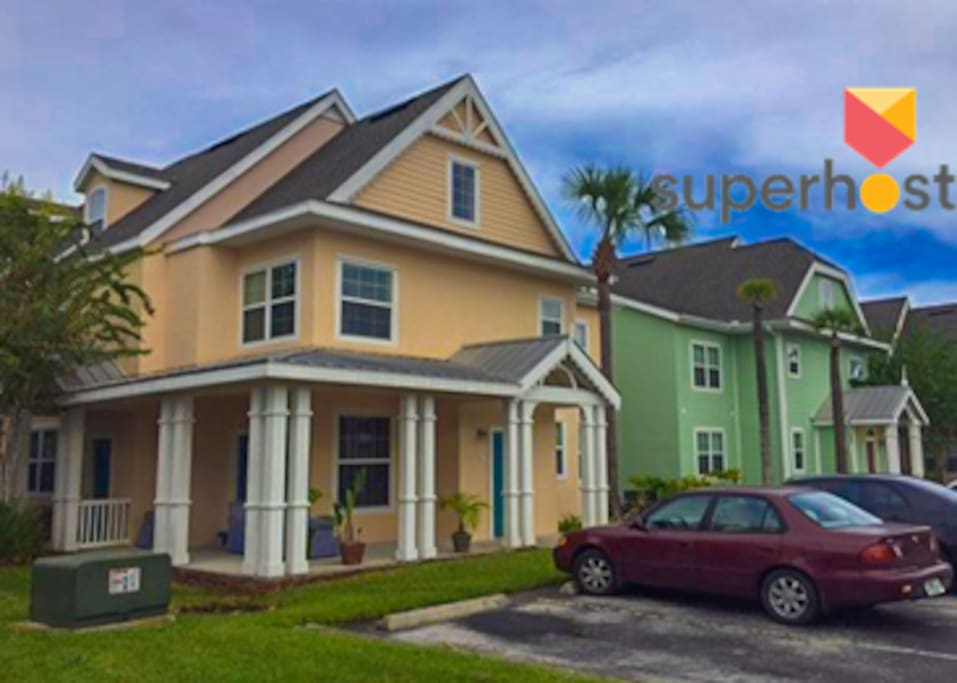 Runaway Beach Club 3br 1670 Sq Ft Sleeps 10 Townhouses For Rent In Kissimmee Florida