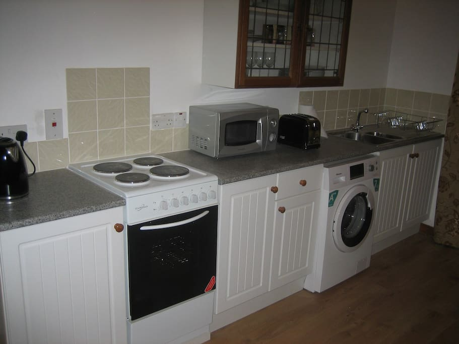 The kitchen was newly fitted in 2015.