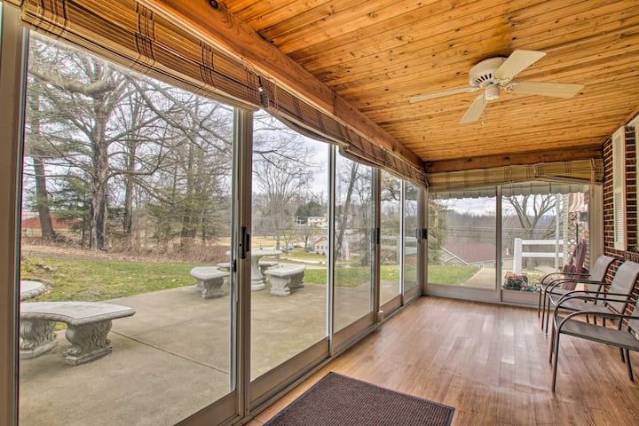 NEW! Cozy Countryside Home - 30 Min to Pittsburgh!