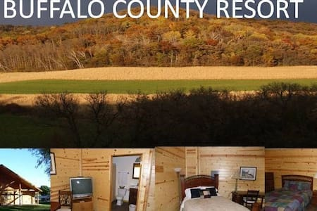 Buffalo County Resort, Rustic Cabin (NO PLUMBING) - Waumandee