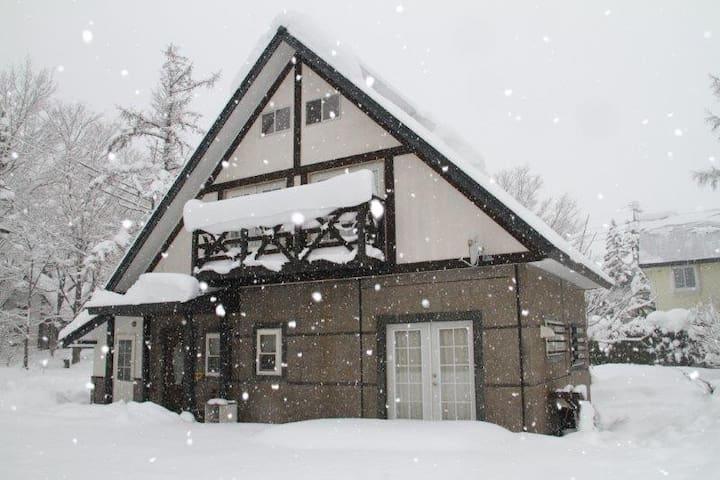 Hakuba Powder Cottage - 白馬村 - Casa
