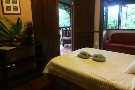 Jungle House Rainforest Lodge B&B - Chilamate