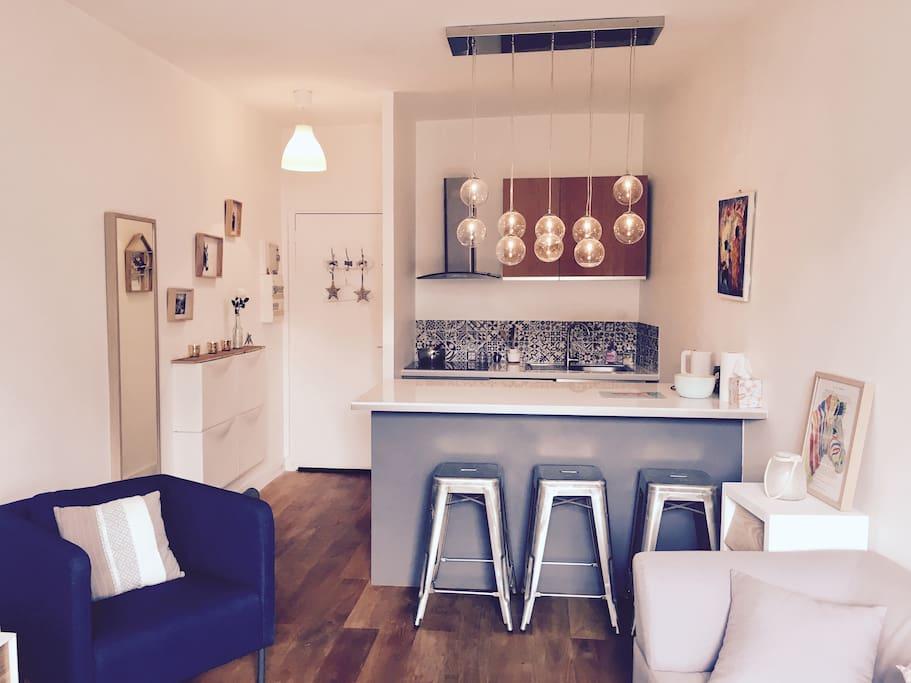 Cosy duplex en plein centre ville appartements louer for Appartement atypique saint germain en laye