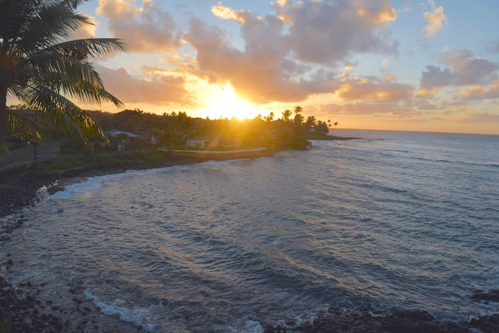 Top Floor Ocean Condo with Two A/C Units  in Poipu