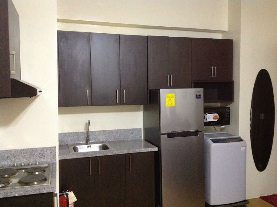 Condo kitchen area