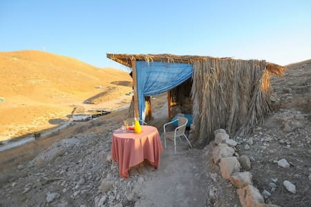Desert Camping Israel - Kfar Adumim - Skjul