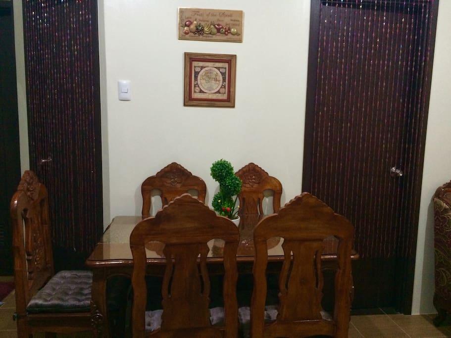 Condo dining place