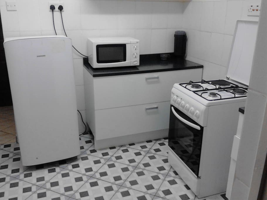 Kitchen - fitted with high quality finishings to improve sanitation