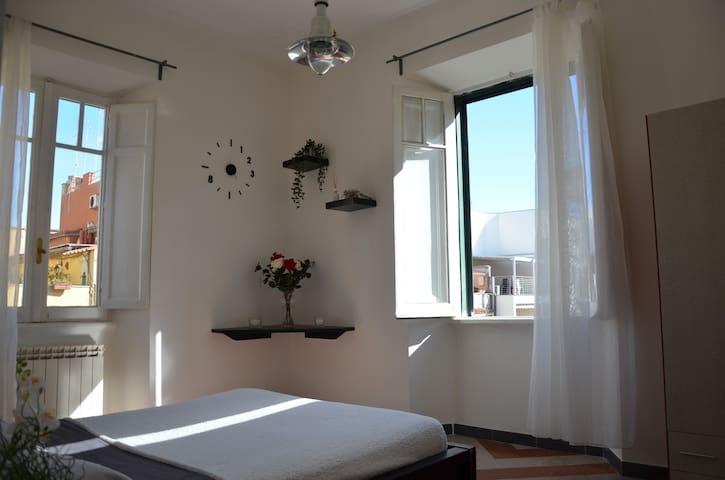 Cozy Attic In Ostia  - 200m from the beach