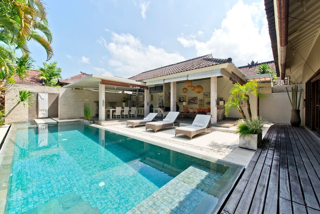 Pool and Villa Overview