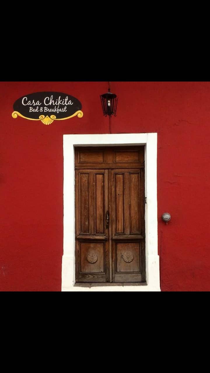 Habitación sencilla (M)  Casa Chikita B&B
